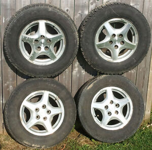 "Original GM 15"" Aluminum Alloy Rims Set of 4 *5x115mm"
