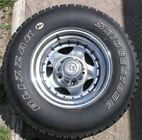 A set of four P235/75 R15 for sale