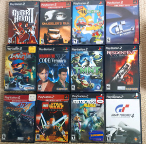 PlayStation 2 video games-12 total-$5 each or all for $40