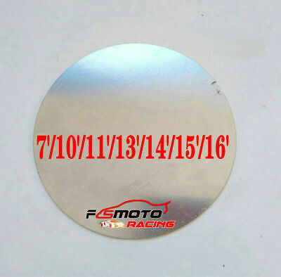 710inch Dia.180mm Aluminum Disc Circle Blank Plate Flat Sheet Round 2mm Thick