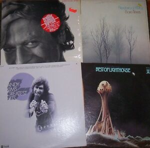 vinyl record albums BEST OF LIGHTHOUSE / GORDON LIGHTFOOT Kitchener / Waterloo Kitchener Area image 1