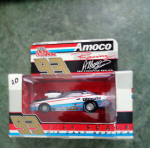 Rare Gas Promo Amoco Ultimate Allen Johnson Pro Stock Dragster