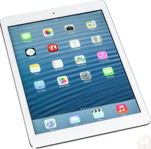 MINT IPAD AIR 1 32GB WIFI ONLY WHITE 3 MONTHS OF WARRANTY $249
