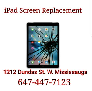 iPad 2 3 4 / iPad Mini 1 2 3 4 / iPad 1 2 Screen Repair Start$55