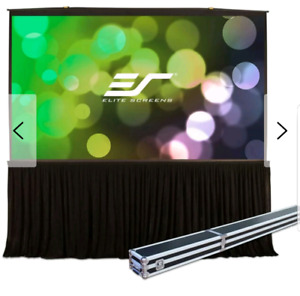Elite screens quick stand folding Projector screen