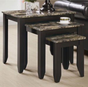 3 pieces Nesting table