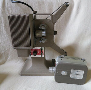 Vintage Kodascope Eight-71 Projector and Reliant 8mm camera