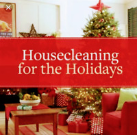 Holiday Cleans for Whitby/North Oshawa