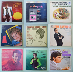 Vintage vinyl records for sale