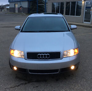 2002 Audi A4 1.8T VERY NICE VEHICLE. CLEAN AND MINT
