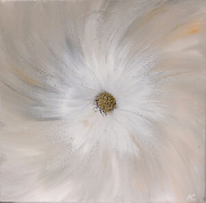 One-of-a-kind Contemporary Painting on Canvas 12x12