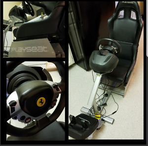 Racing Wheel and Seat, Xbox One/PC Compatible