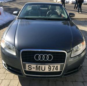 Audi A4 décapotable à 9000$