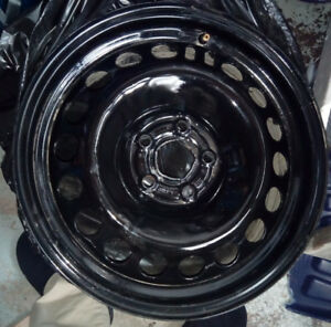 "16"" Winter rims almost new condition, GM bolt pattern"