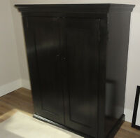 Black hutch/TV stand/armoire