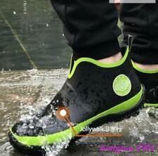 new mens fishing rain boots nonslip casual rubber