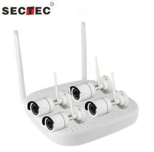 ★ WIRELESS CAMERA SECURITY SYSTEM SANS FIL SURVEILLANCE WIFI ★