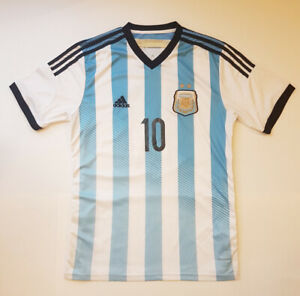 7f3a1f6d7 Lionel Messi  10 Adidas Argentina Soccer Jersey - Men s Large