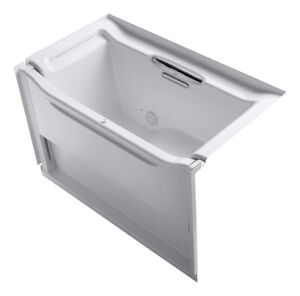 Kohler Elevance Rising Wall 60x34 alcove accessible bathtub