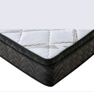 Brand New PU Leather Bed Queen, Double, Single. Black/White/Brow