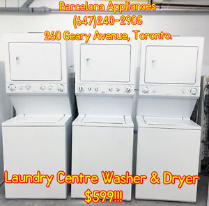 "WASHER & DRYER STACKABLE / LAUNDRY CENTRE 24"" & 27"""