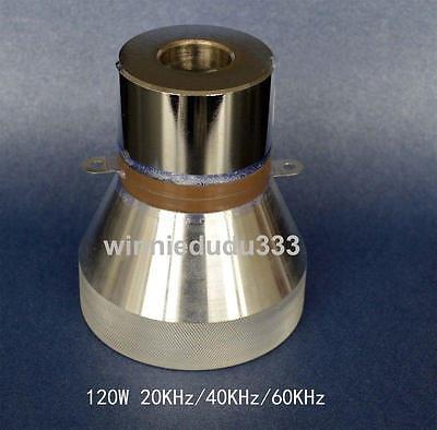 3 Frequency 20khz40khz60khz 120w Ultrasonic Transducer Cleaner Transducer