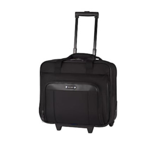 "Nextech 15.6"" Laptop Roller Business Case, Black (NXT1026 009)"
