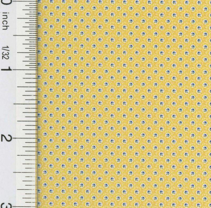 Dollhouse Wallpaper Hannahs Jacobean Yellow