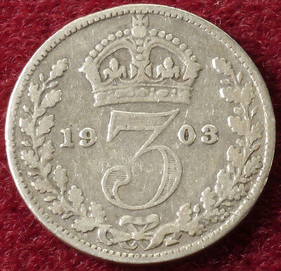 GB Threepence 1903 (B1407)