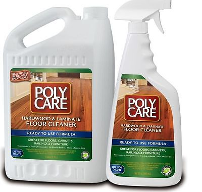 polycare hardwood and laminate floor cleaner