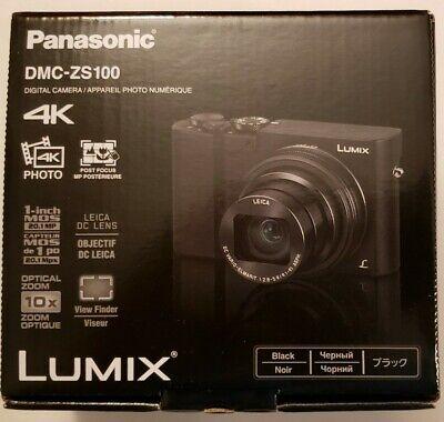Brand New Panasonic LUMIX ZS100 20.0MP Digital Camera - Black Fast Shipping