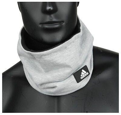 [Adidas] Climaheat Fleece Neck warmer Football Soccer Winter Sports Grey AB0457