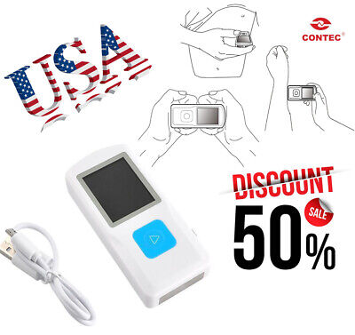 Portable Color Lcd Ecgekg Machine Handheld Ecg Monitorusbbluetooth Usa Seller