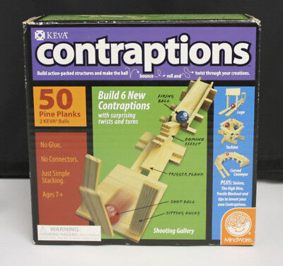 KEVA Contraptions 50 Plank Set Game - Keva Planks