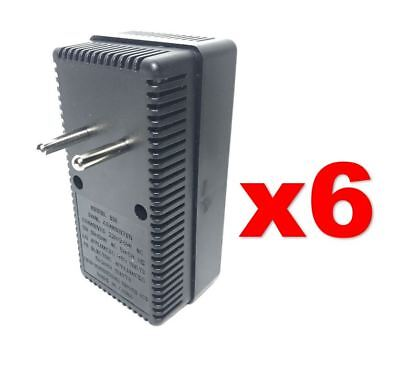 EU Europe to USA 50-2000W Voltage Converter 220v to 110v Power Transformer 6PACK