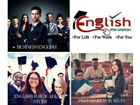 Online English Lessons-Business English,IELTS,English for Academic Study & Conversation Skills