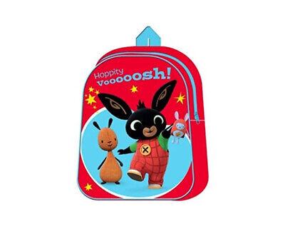 Zaino BING bambina bimbo ASILO 3D scuola bambino bimbo zainetto rosso 28*20