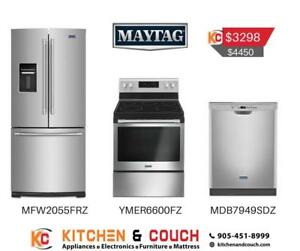 Maytag  Stainless Steel Package on Sale (MAY402)