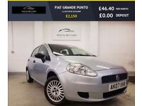 FIAT GRANDE PUNTO 1.2 ACTIVE 8V 5d 65 BHP EXTREMELY ECONOMICAL, LOW (grey) 2007