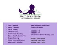 MAID IN CHELSEA | Natural Cleaning Services