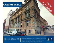 Modern Office for Rent in Glasgow's Core Central Business District