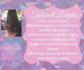 Hair Extensions- Full head from £120
