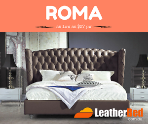 Premium Quality Leather Bed collection in King and Queen Cranbourne East Casey Area Preview