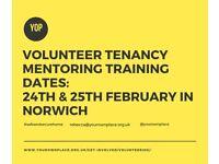 Develop your skills be becoming a Volunteer Tenancy Mentor