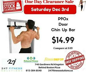 P90x Doorway Chin Up Bar. Compare at up to $49.99. Just 14.88 ONE DAY ONLY! Some Limitations apply