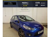 MAZDA 2 1.5 SPORT 5d 102 BHP AUX, MULTI-FUNC, ALLOY WHEELS (blue) 2009