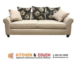 FABRIC SOFAS TORONTO | CLEARANCE WAREHOUSE BRAMPTON (KC14)