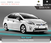 Uber & Ola vehicles for rent Victoria Park Victoria Park Area Preview