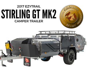 2017 Ezytrail Stirling GT Mk2 Off Road Hard Floor Camper Trailer Fyshwick South Canberra Preview