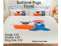 Beautiful Pug Duvet Set
